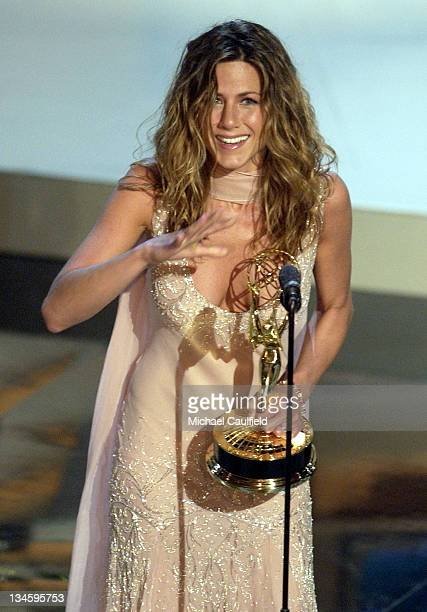 Jennifer Aniston winner for Best Actress in a Comedy Series 'Friends' at the 54th Annual Emmy Awards