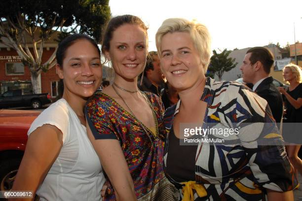 Jennifer Arceneaux Andrea Bowers and Julie Schiffer attend MOCA FRESH Artists' Party Hosted By Steven Arroyo Happy House @ MOCA with Chairs Karyn...