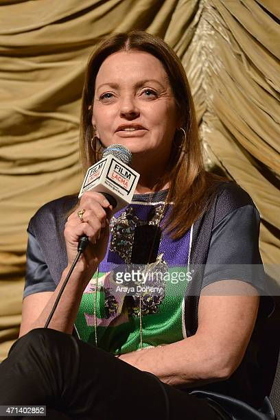 Jennifer Ash Rudick attends the Film Independent at LACMA Screening and QA of Iris at Bing Theatre At LACMA on April 27 2015 in Los Angeles California