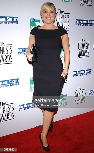 Jennifer Aspen during 20th Anniversary Genesis Awards Arrivals at Beverly Hilton in Beverly Hills California United States