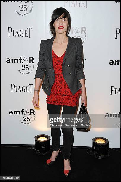 Jennifer Ayache attends the amfAR Inspiration Gala at Pavillon Gabriel in Paris