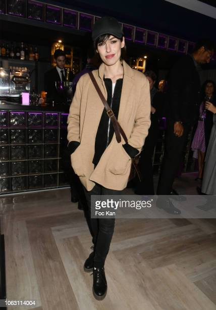 Jennifer Ayache daughter of actress Chantal Lauby attends 'Geneticancer' Auction Gala at 20 rue Mederic on November 17 2018 in Paris France