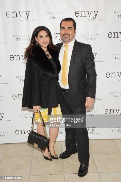 Jennifer Aydin and Bill Aydin attend the Envy By Melissa Gorga Fashion Show on May 03, 2019 in Hawthorne, New Jersey.