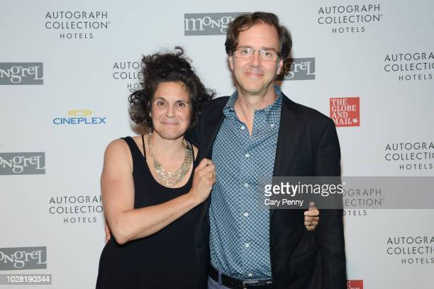 Jennifer Baichwal and Nicholas dePencier attends 'The Anthropocene Project' at Mongrel House during the 2018 Toronto International Film Festival at...
