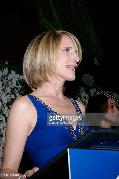 Jennifer Banks Oughourlian attends LA VIE EN VERT GALA 2008 Lycee Francais de New York at Cipriani Wall Street on February 1 2008 in New York City