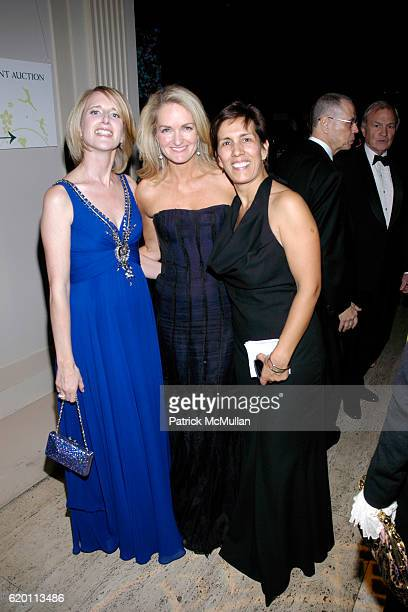 Jennifer Banks Oughourlian Heather Dandenberghe and Cesaltine Gregorio attend LA VIE EN VERT GALA 2008 Lycee Francais de New York at Cipriani Wall...