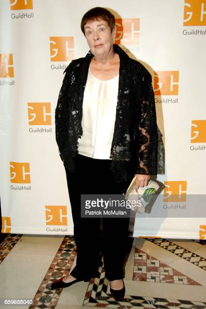 Jennifer Bartlett attends GUILD HALL ACADEMY of the ARTS LIFETIME ACHIEVEMENT AWARDS at Cipriani 42nd Street on March 2 2009 in New York City