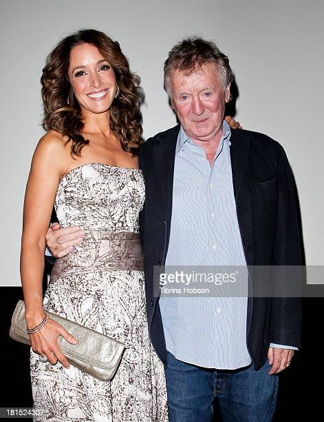 Jennifer Beals and Adrian Lyne attend the American Cinematheque's 30th Anniversay Screening of 'Flashdance' at Aero Theatre on September 21 2013 in...