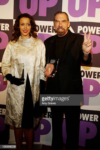 Jennifer Beals and John Paul DeJoria, honorees during 4th Annual Power Up Premiere Gala at Park Plaza Hotel in Los Angeles, California, United States.
