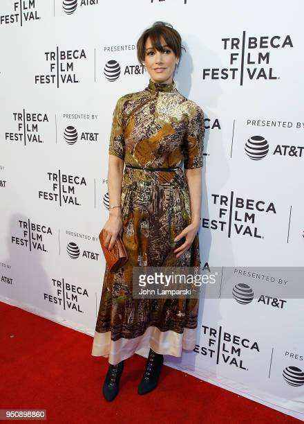 Jennifer Beals attends In The Soup during the 2018 Tribeca Film Festival at SVA Theater on April 24 2018 in New York City