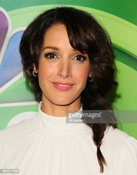 Jennifer Beals attends the 2017 NBCUniversal Winter Press Tour Day 2 at Langham Hotel on January 18 2017 in Pasadena California