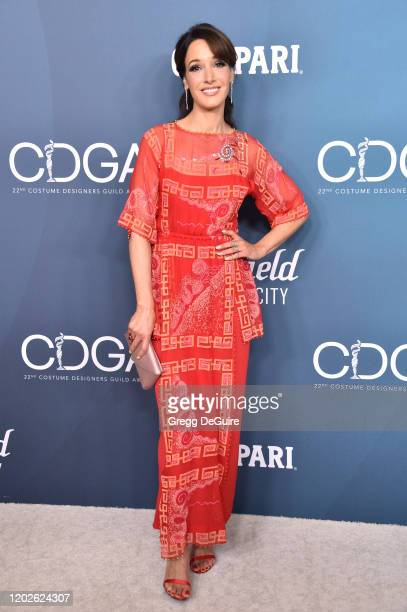 Jennifer Beals attends the 22nd CDGA at The Beverly Hilton Hotel on January 28, 2020 in Beverly Hills, California.