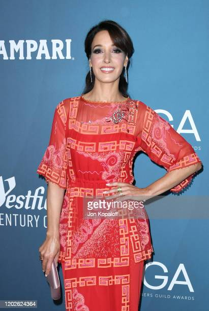 Jennifer Beals attends the 22nd CDGA at The Beverly Hilton Hotel on January 28 2020 in Beverly Hills California