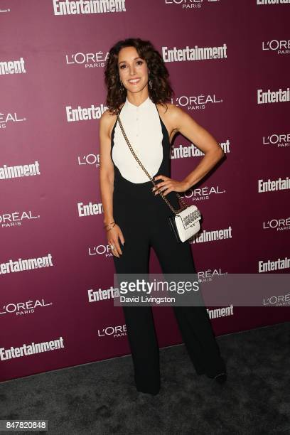 Jennifer Beals attends the Entertainment Weekly's 2017 PreEmmy Party at the Sunset Tower Hotel on September 15 2017 in West Hollywood California