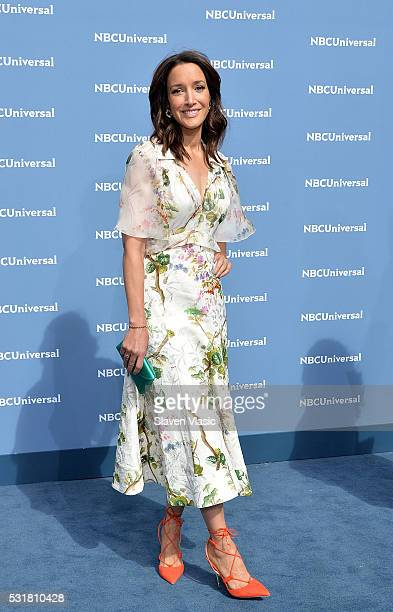 Jennifer Beals attends the NBCUniversal 2016 Upfront Presentation on May 16 2016 in New York New York