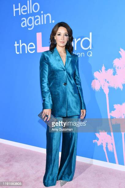Jennifer Beals attends the premiere of Showtime's The L Word Generation Q at Regal LA Live on December 02 2019 in Los Angeles California
