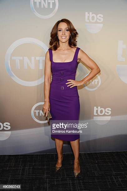 Jennifer Beals attends the TBS / TNT Upfront 2014 at The Theater at Madison Square Garden on May 14 2014 in New York City 24674_002_0752JPG
