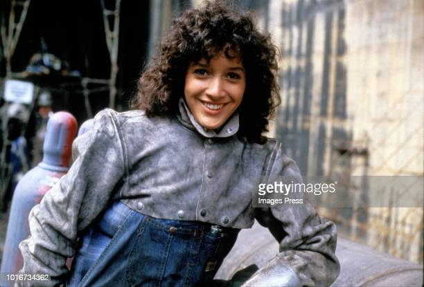 Jennifer Beals circa 1983 in New York