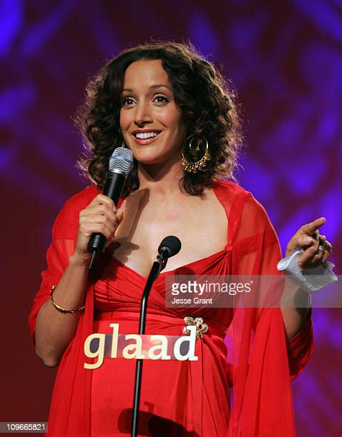Jennifer Beals during 16th Annual GLAAD Media Awards at Fort Mason Center in San Francisco, California, United States.
