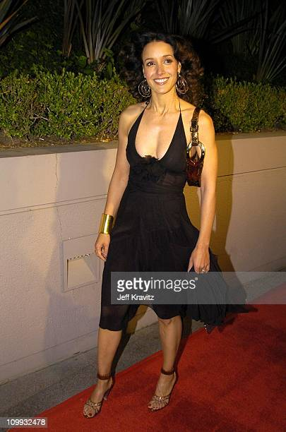 Jennifer Beals during 2004 Miramax Awards PreOscar Party at St Regis Hotel in Century City California United States