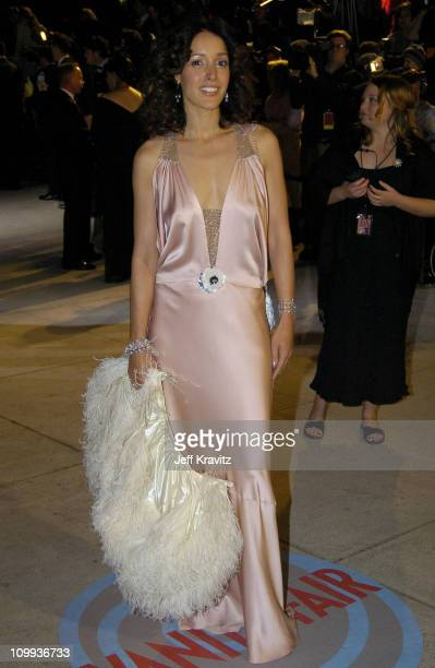 Jennifer Beals during 2004 Vanity Fair Oscar Party at Mortons in Beverly Hills California United States