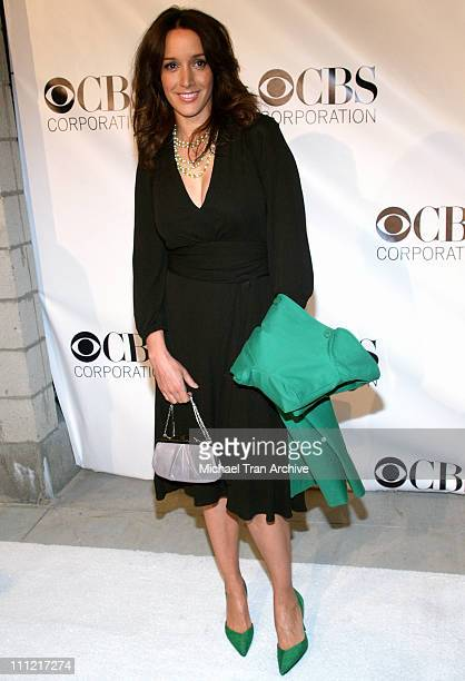 Jennifer Beals during CBS Television 2006 TCA Winter Party Arrivals at The Wind Tunnel in Pasadena California United States