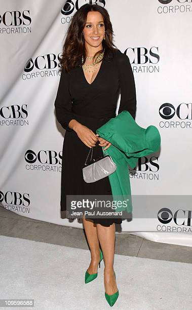 Jennifer Beals during CBS/Paramount/UPN/Showtime/King World 2006 TCA Winter Press Tour Party - Arrivals at The Wind Tunnel in Pasadena, California,...