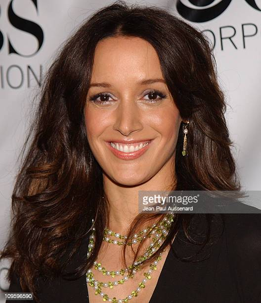 Jennifer Beals during CBS/Paramount/UPN/Showtime/King World 2006 TCA Winter Press Tour Party Arrivals at The Wind Tunnel in Pasadena California...