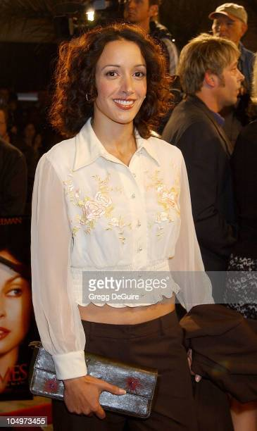 Jennifer Beals during High Crimes Premiere at Mann Village Theatre in Westwood California United States