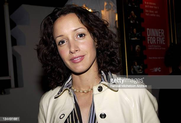 Jennifer Beals during Independent Film Channel Dinner For Five Launch Party at Argyle Hotel in Los Angeles California United States
