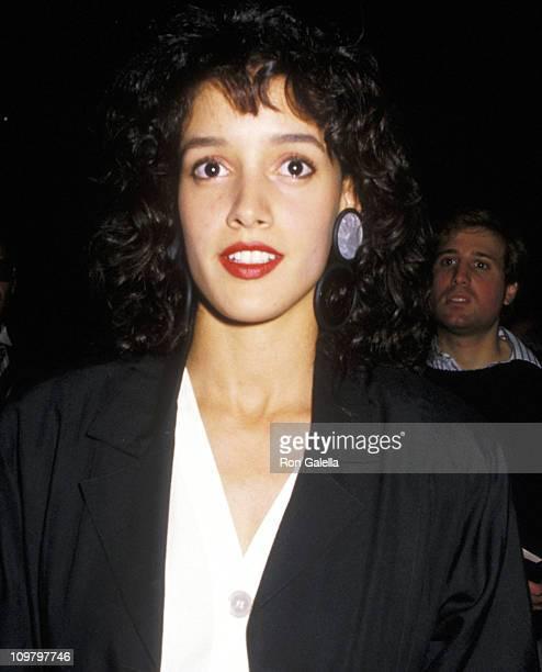 Jennifer Beals during New York Film Festival September 23 1988 at Lincoln Center in New York City New York United States