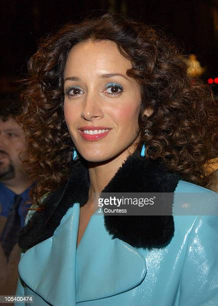 Jennifer Beals during Opening Night of 'Sly Fox' on Broadway Arrivals at Ethel Barrymore Theatre in New York City New York United States