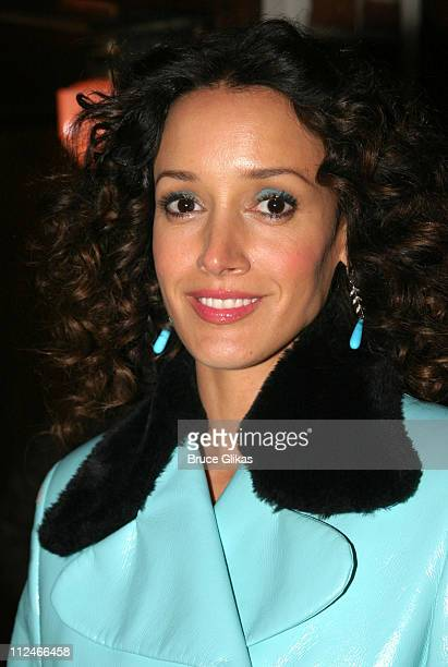 Jennifer Beals during Opening Night of 'Sly Fox' On Broadway at Ethel Barrymore Theatre in New York NY United States