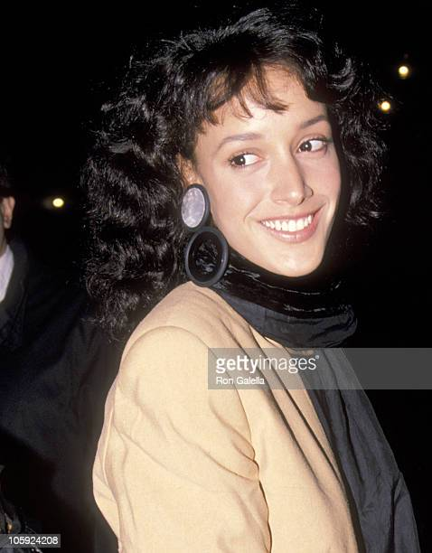 Jennifer Beals during Premiere of Cinema Paradiso in New York at Lincoln Center in New York City New York United States