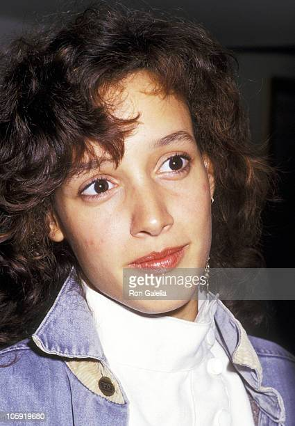 Jennifer Beals during Premiere of Five Corners in New York at Carnegie Cinemas in New York City New York United States