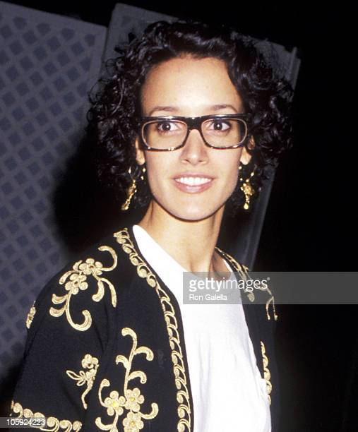 Jennifer Beals during Premiere of 'Robin Hood Prince of Thieves' in Los Angeles at Westwood Marquis in Westwood California United States