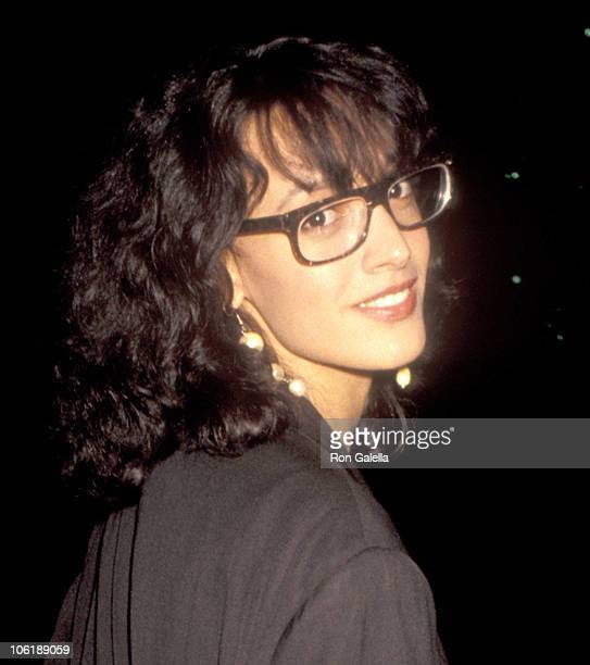Jennifer Beals during Premiere of The Godfather Part III in Los Angeles at Academy Theatre in Beverly Hills California United States