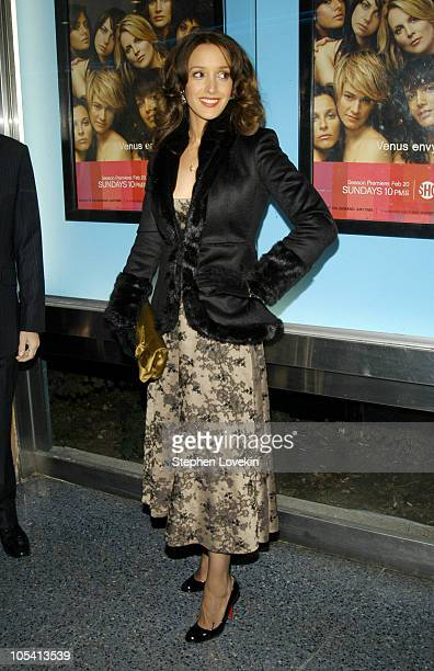 Jennifer Beals during Showtime Presents the Second Season Premiere of The L Word at Chelsea Clearview West Cinemas in New York City New York United...
