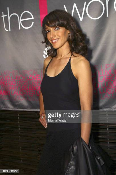Jennifer Beals during Showtime's Preview Luncheon showcasing the Network's controversial new series THE L WORD at Blue Fin in New York City New York...