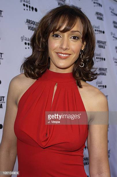 Jennifer Beals during The 14th Annual GLAAD Media Awards Los Angeles - VIP Reception at Kodak Theatre in Hollywood, California, United States.