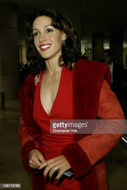 Jennifer Beals during The 17th Annual American Cinematheque Award Honoring Denzel Washington Arivals and Press Room at Beverly Hilton Hotel in...