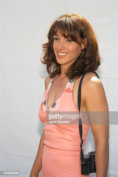 Jennifer Beals during The 18th Annual IFP Independent Spirit Awards Backstage at Santa Monica Beach in Santa Monica California United States