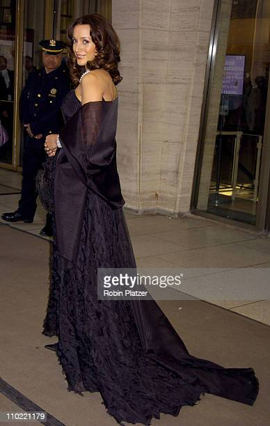 Jennifer Beals during The Film Society of Lincoln Center Honors Dustin Hoffman at Lincoln Center's Avery Fisher Hall in New York City New York United...