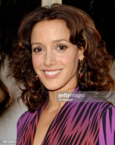 Jennifer Beals during The Grudge 2 Los Angeles Premiere Arrivals at Knott's Berry Farm in Buena Park California United States