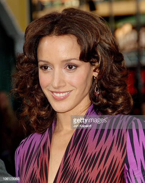 Jennifer Beals during 'The Grudge 2' Los Angeles Premiere Arrivals at Knott's Berry Farm in Buena Park California United States
