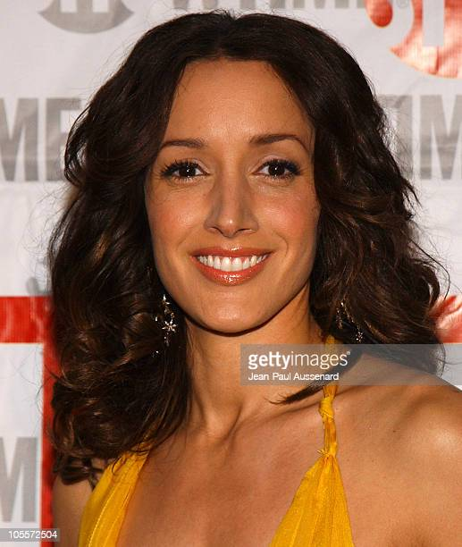 Jennifer Beals during The L Word Showtime Network's Second Season Premiere at Directors Guild of America in Los Angeles California United States