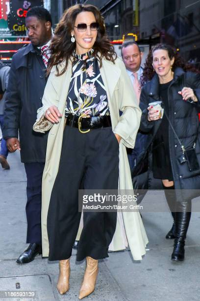 Jennifer Beals is seen on December 05 2019 in New York City