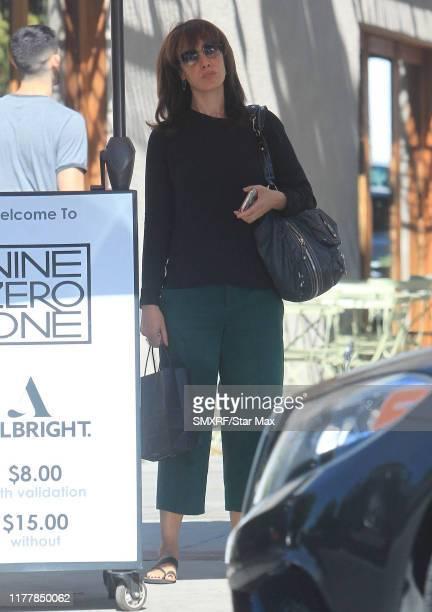 Jennifer Beals is seen on October 23 2019 in Los Angeles California