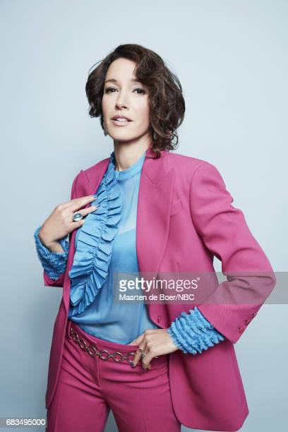 Jennifer Beals of Taken poses for a photo during NBCUniversal Upfront Events Season 2017 Portraits Session at Ritz Carlton Hotel on May 15 2017 in...