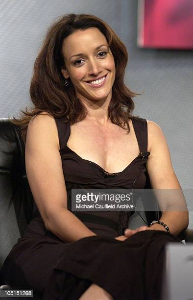 Jennifer Beals of The L Word at the 2003 Showtime TCA Presentation